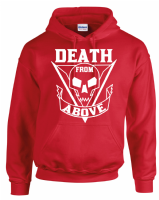 DEATH FROM ABOVE HOODIE - INSPIRED BY ALIEN STARSHIP TROOPERS